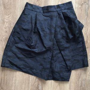 Banana Republic Asymmetrical Camo Skirt